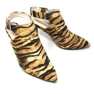 Seven Dials Sherly Point Bootie Tiger King Print